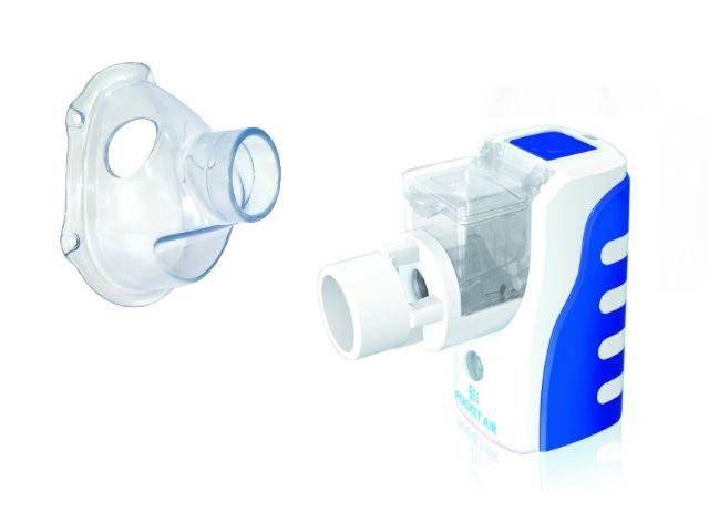 Inhalator siateczkowy POCKET AIR z maską dla dzieci