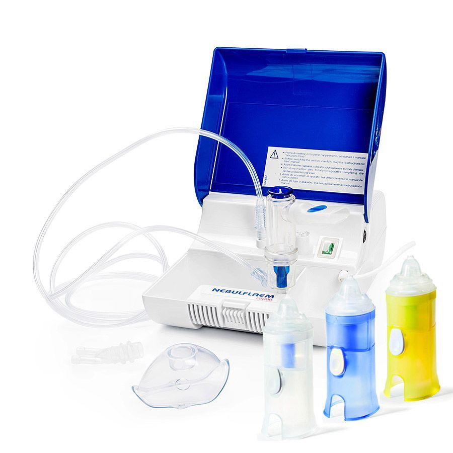 Inhalator pneumatyczny NEBULFLAEM F2000 RHINO CLEAR