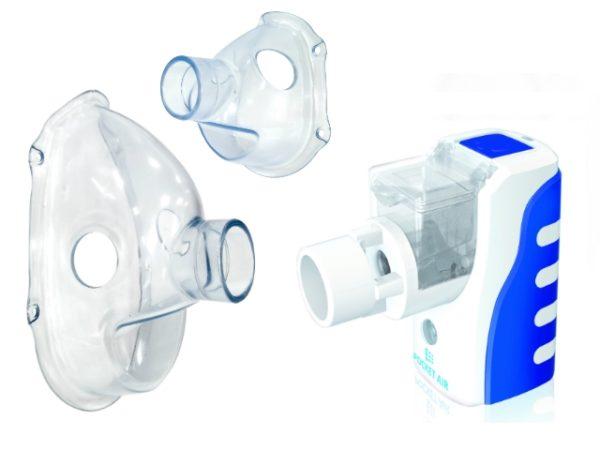 Pocketair2 maska duza mala do inhalatora
