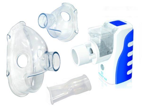 Pocketair2 maska duza mala ustnik do inhalatora