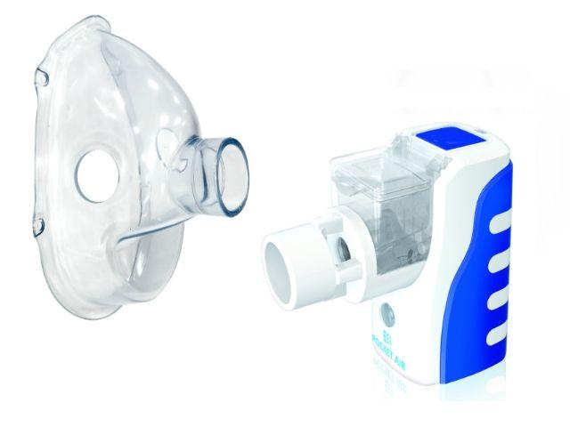 Inhalator siateczkowy POCKET AIR z maską dla dorosłych